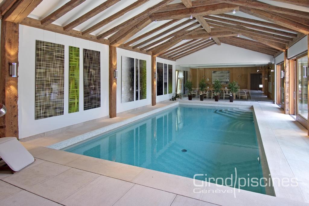 Int rieure girod piscines gen ve for Chauffage local piscine interieure