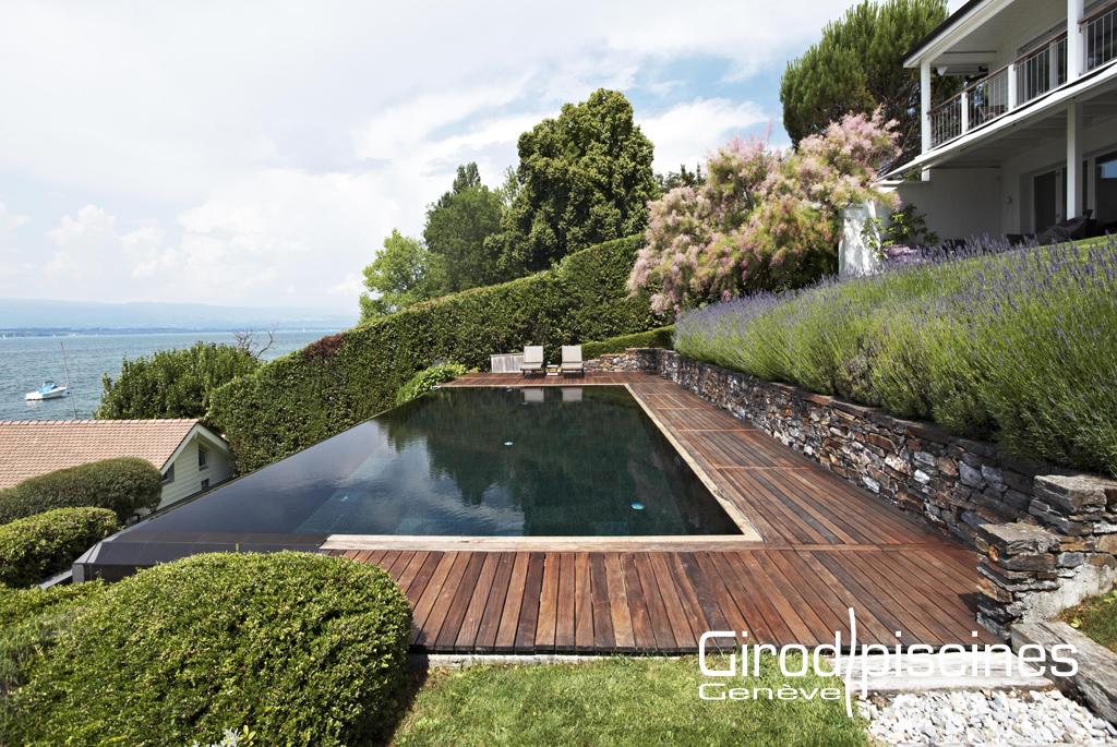 Contemporaine girod piscines gen ve - Combien coute une piscine interieure ...